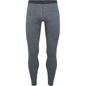 Icebreaker 200 Oasis Leggings Heren, gritstone heather